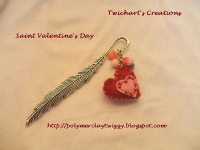 Saint Valentine's Day- Segnalibro