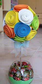 Centrotavola alberello con fiori
