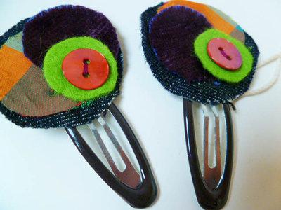 Mollette di stoffa colorate