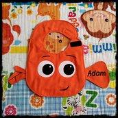 Bavaglino NEMO, bavaglini impermeabili, bavaglini personalizzati, regalo originale per il bebé
