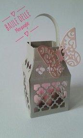 Bomboniera lanterna battesimo comunione Cresima matrimonio portaconfetti