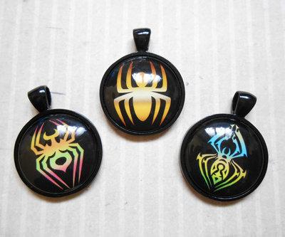 3 ciondoli pendenti immagini ragni
