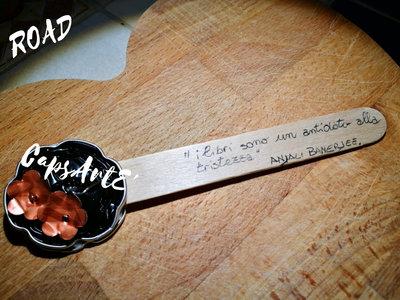 Segnalibri fatti a mano in legno e capsule del caffè - Linea Road