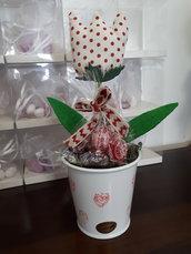 Tulipano in stoffa
