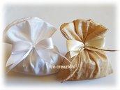 Sacchetti porta confetti battesimo, comunione, cresima, matrimonio