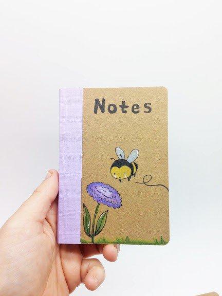 NOTES ape con fiore