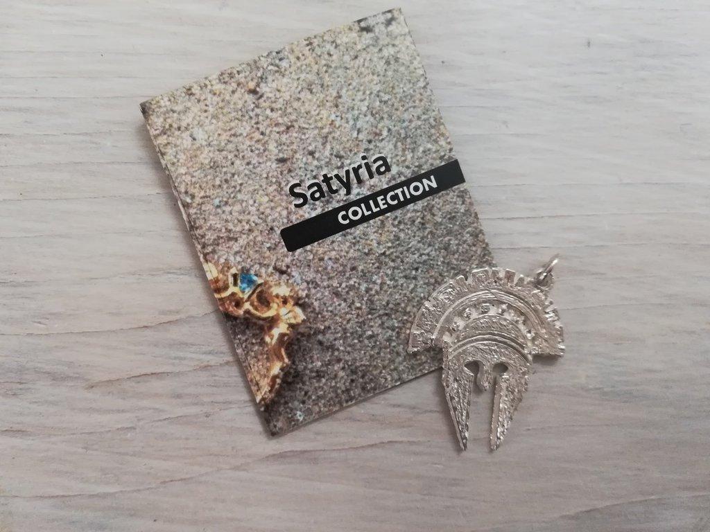 pendente spartano unisex argento