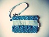 Pochette/ astuccio - I'm blue