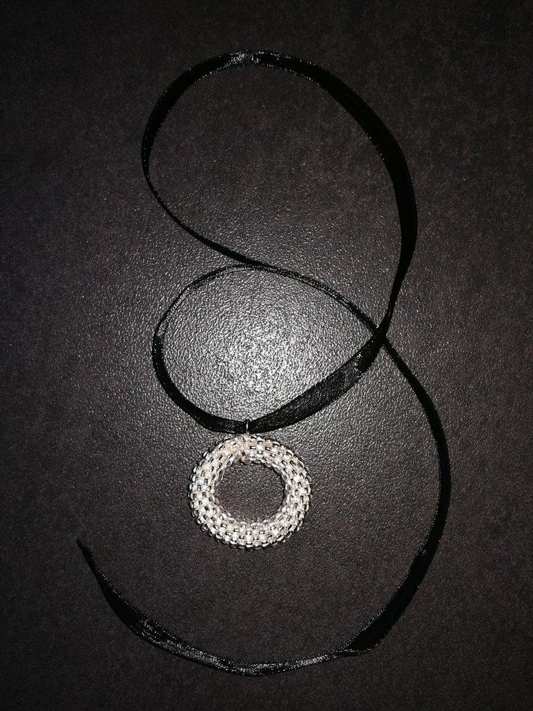 Ciondolo di perline cristallo