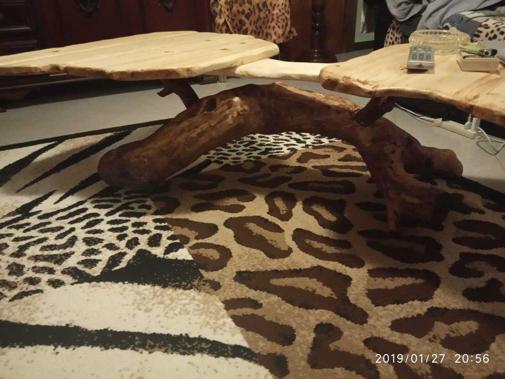 Tavolo di fumo eucalipto