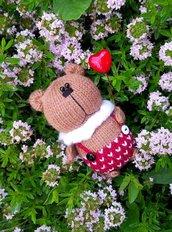 Bambola Orsacchiotto a maglia