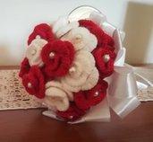 Bouquet sposa uncinetto bouquet addio al nubilato