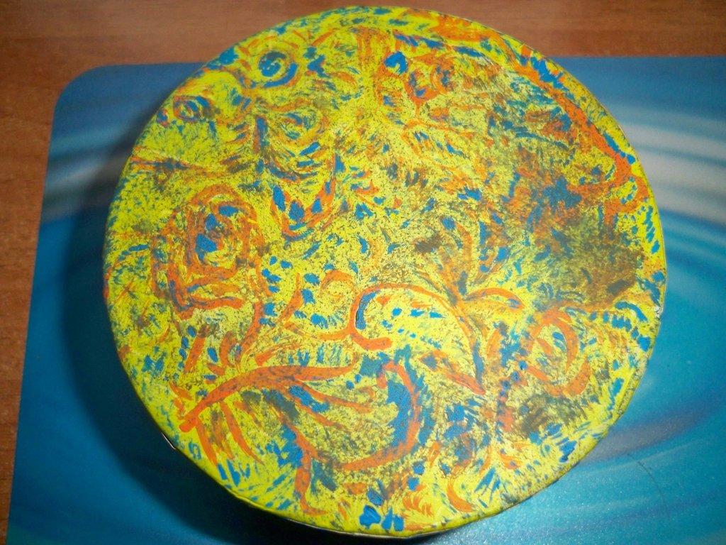 Scatolina rotonda milleusi(SALDI)