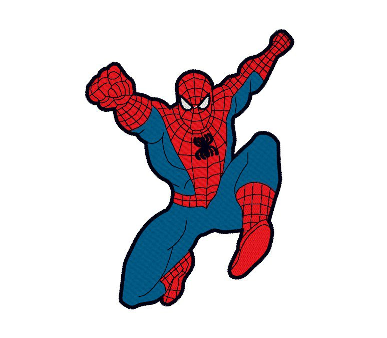 Spiderman embroidery design. INSTANT DOWNLOAD