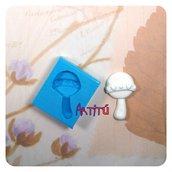 Stampo in silicone sonaglino bebé stampo per bomboniere e gadget nascita per segnaposti decorazioni
