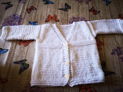 Cardigan cotone bimbo 9/12 mesi