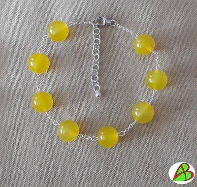 Bracciale Agata Gialla (Mimosa)
