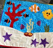 coprifuochi per cucina Aquario con pesci e coralli