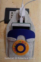 fustellato porta telefono