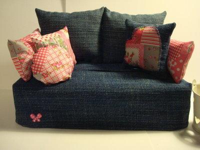 Divanetto porta fazzoletti, porta salviette, porta Kleenex, Tissue box sofà