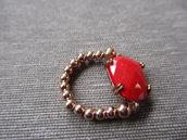 argento oro rosa cristallo rosso