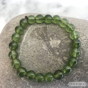 Agata verde, Bracciale elastico