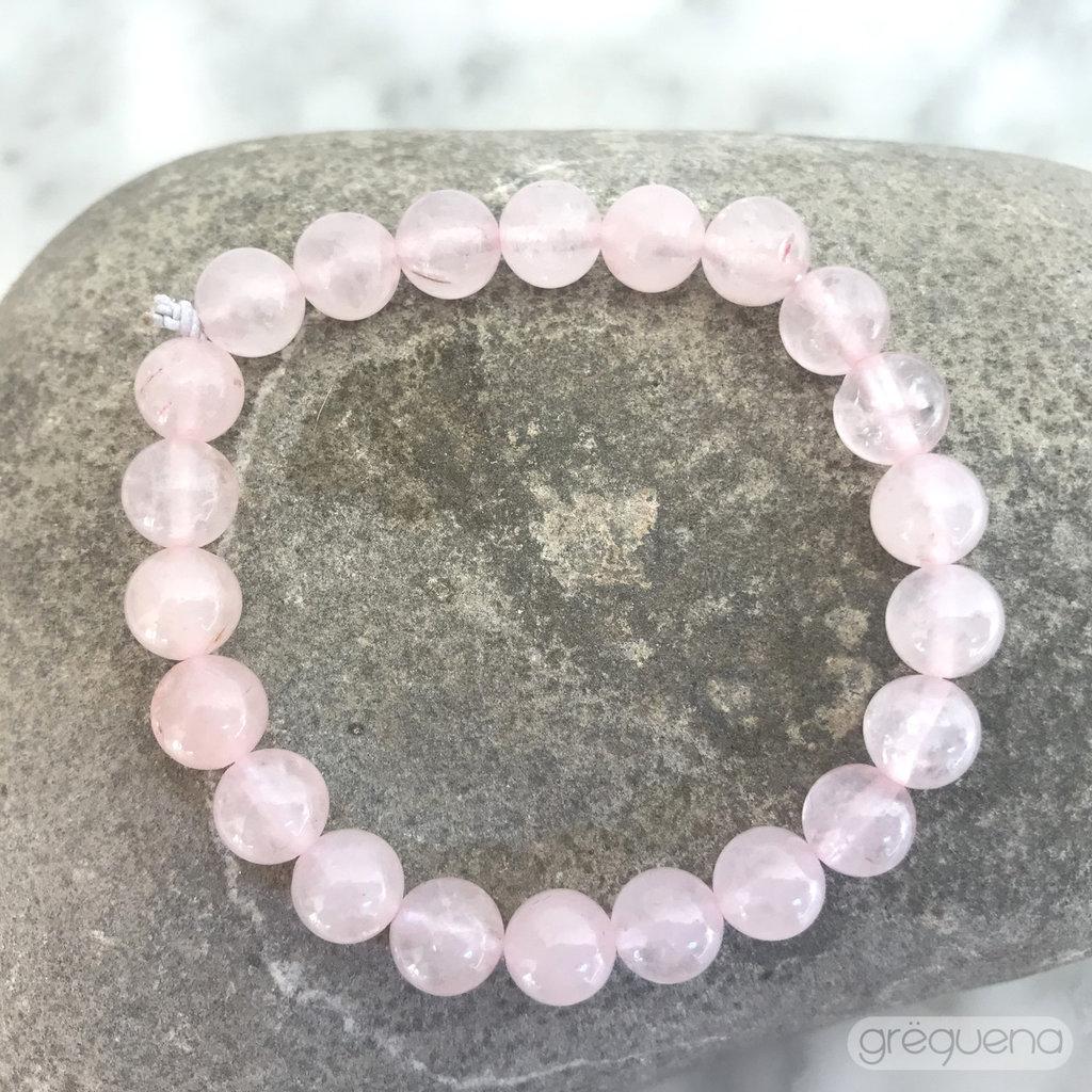 Quarzo rosa, Bracciale elastico