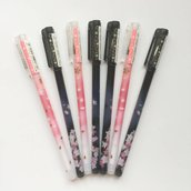 Fiori di Sakura penna gel (colore nero)