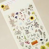 Suatelier Secret garden stickers