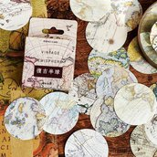 Stickers Emisfero, Scrapbooking