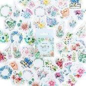 Stickers bellissimi fiori