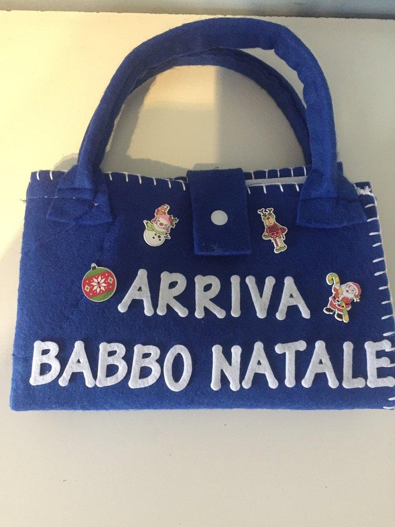 "Valigetta ""arriva babbo natale"""
