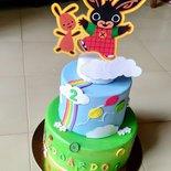Bing torta decorativa