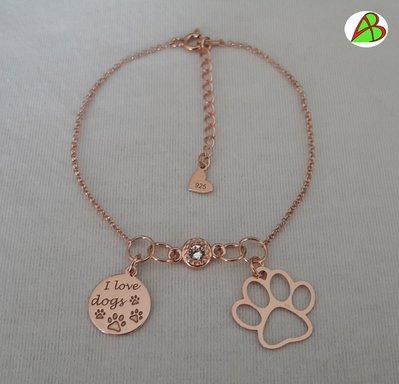 Bracciale  I Love Dogs