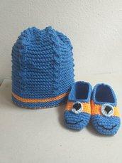 Cappellino blu bambino