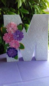 Lettere 3d Lettera Nome Compleanno Festa Comunione Battesimo
