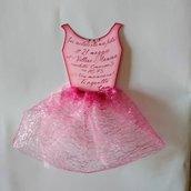 Ballerina invito compleanno