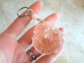 Portachiavi in Resina // Conchiglia Cristallo nr.5 // Fatto a Mano ❤