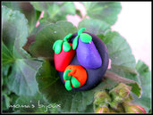 Anello Vegetables nero