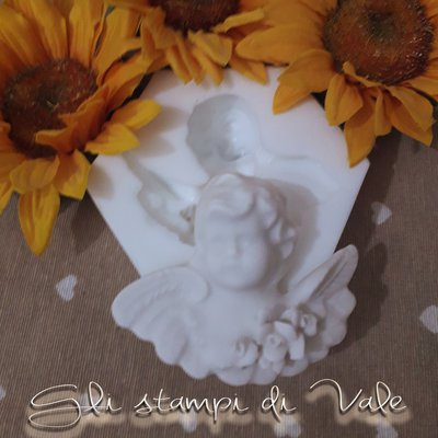 Stampo angelo in silicone