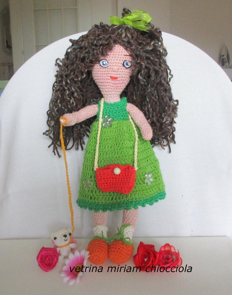 Bambola Matilde Amigurumi