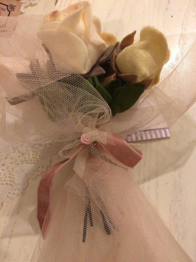 Idea regalo decoro addobbo rose grandi .