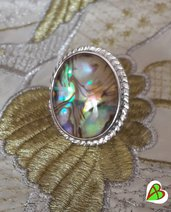 Anello in Madreperla Paua