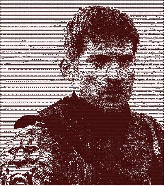 Jaime Lannister photostitch embroidery design, ricamo digitale. INSTANT DOWNLOAD