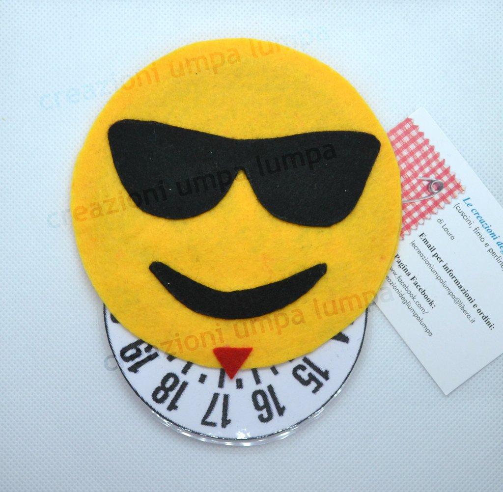 disco orario smile emoticon whatsapp