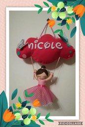Fiocco Nascita/ decorazione stanzetta