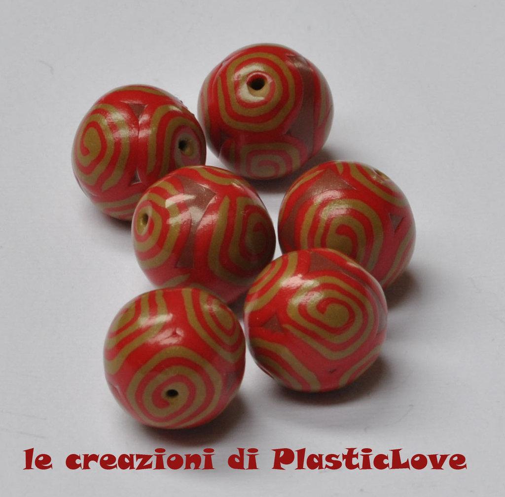 Perle in pasta polimerica