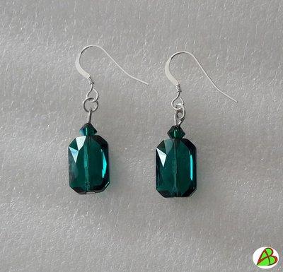 Orecchini  Emerald Swarovski