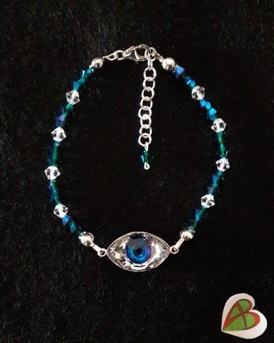 Bracciale Blue Eye Swarovski