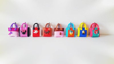 PORTACHIAVI MINI BAG EDIZIONE CARTOON